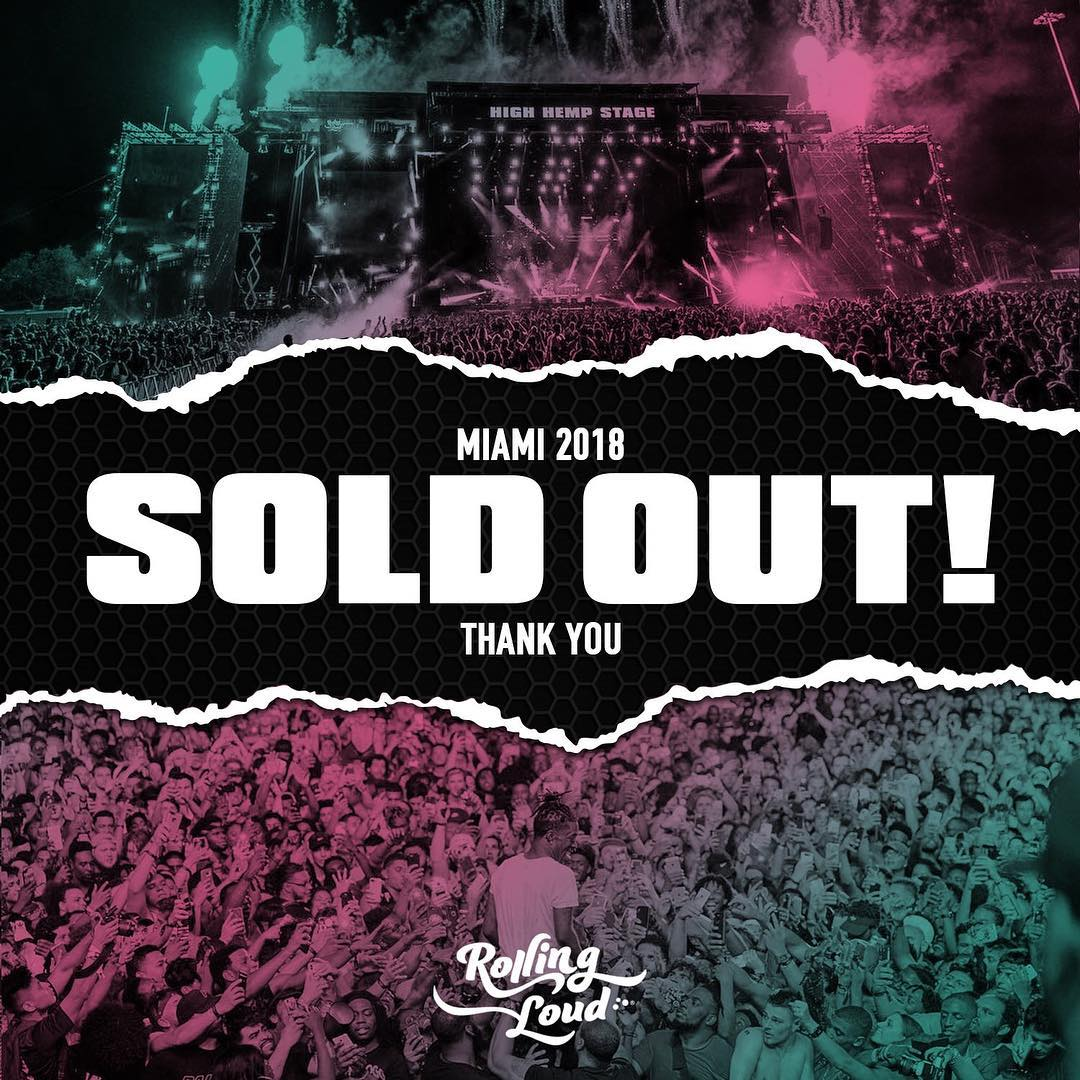Rolling Loud Closes Out It's Biggest Edition Yet With Future, Post Malone, and Rick Ross