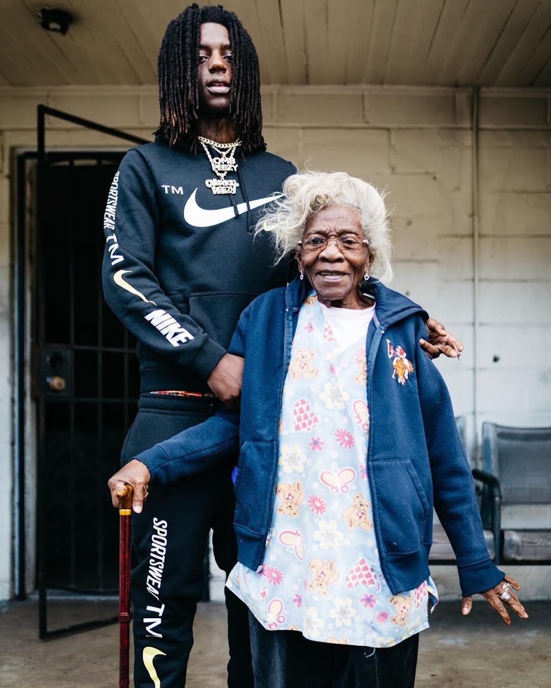 "OMB Peezy Pays Tribute to His Grandma in ""Ms. Lois House,"" Premiered by XXL"
