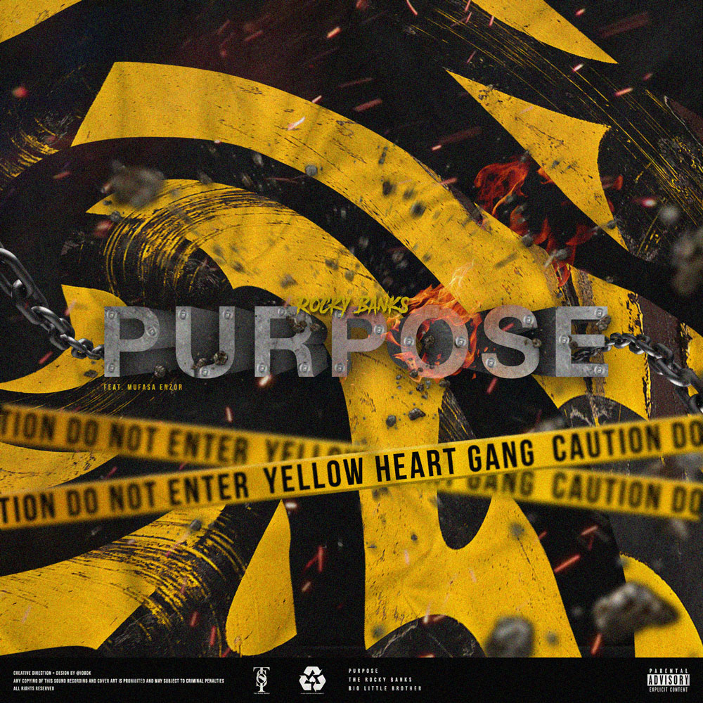 """Cerebral Houston Emcee Rocky Banks Searches For Meaning on """"Purpose,"""" Premiered by GoodMusicAllDay"""