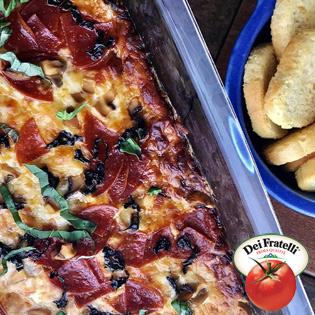 Fire Roasted Pizza Dip - Hirzel/Dei Fratelli