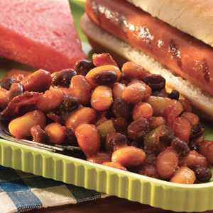 Sweet and Spicy Bean Bake - S&W Beans