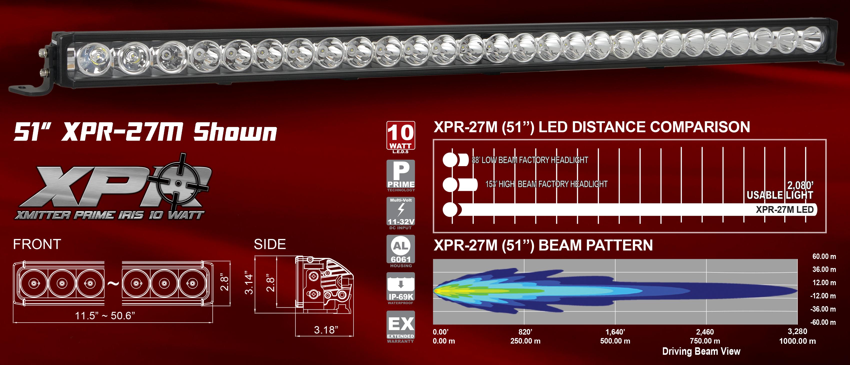 Vision X XPR LED Light Bar
