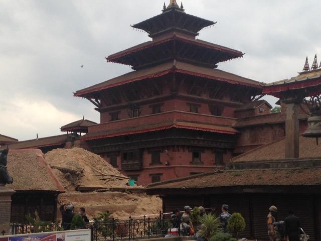 Důsledky ničivého zemětřesení v Nepálu
