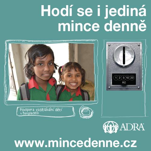 Dárcovský program Mince denně