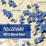 NOWCastSA bond projects map