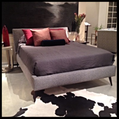 Precedent Furniture Lawrence Platform Bed at Palette and Parlor