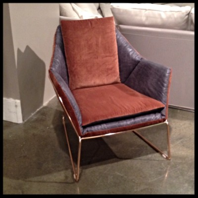 Saba Italia New York Armchair at Palette and Parlor