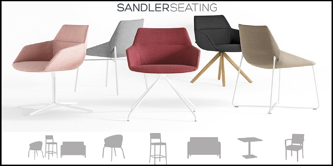 Sandler Seating Available at Palette and Parlor