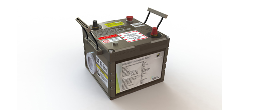 Revision's Nerv Centr™ SWitchPack Battery is a safe source of platform power with more capacity than existing lithium-ion 6T and lead acid batteries, and will be available in mid-2019.