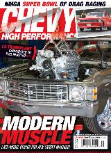 Chevy High Performance - Modern Muscle - Cover Story