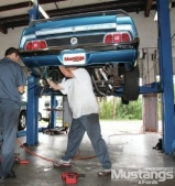 Modified Mustangs and Fords Give a Mach 1 More Fuel