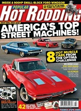 Popular Hot Rodding Magazine Engine Masters Holley EFI Win