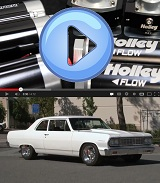 Power Automedia's Project Blueprint Gets a Holley Billet Fuel System