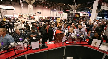 Holley at SEMA and PRI