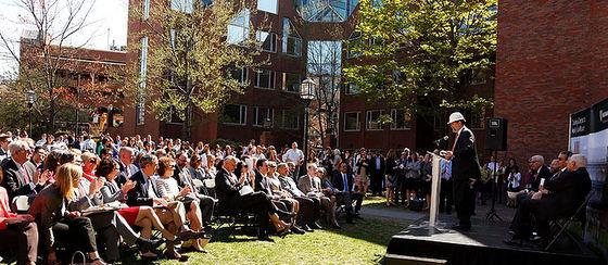 Harvard Kennedy School groundbreaking