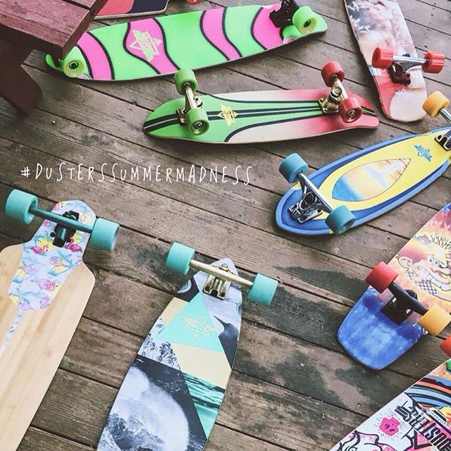 Cruiser e longboard Dusters California