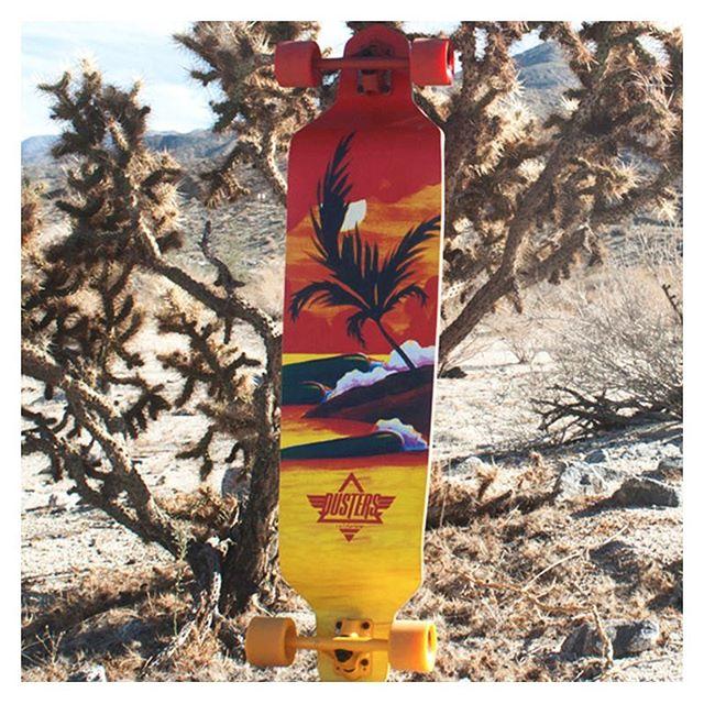 Longboard Dusters California