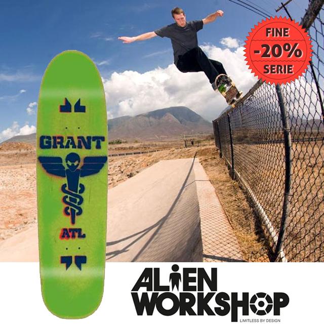Tavole e cuscinetti fine serie Alien Workshop