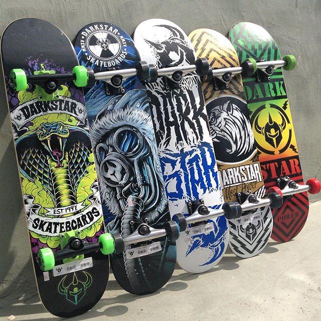Skate completi Darkstar, i più venduti al mondo