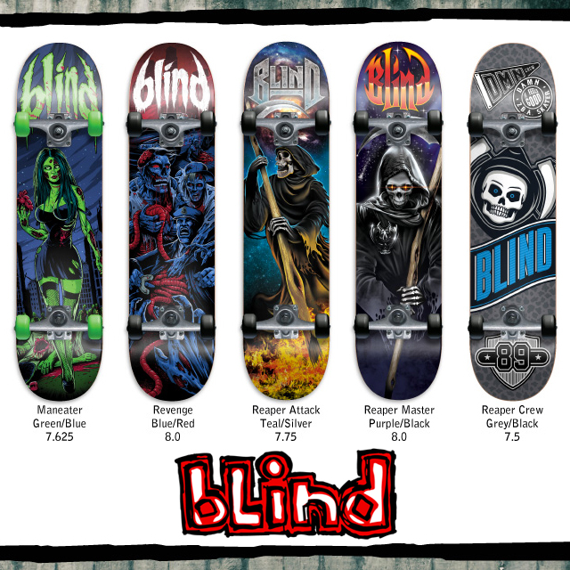 Skate completi Blind
