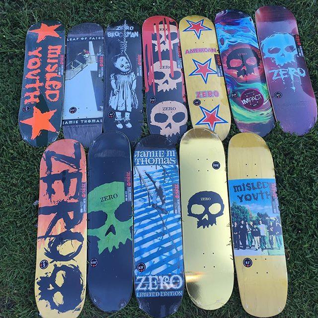 Zero skateboards festeggia 20 anni!