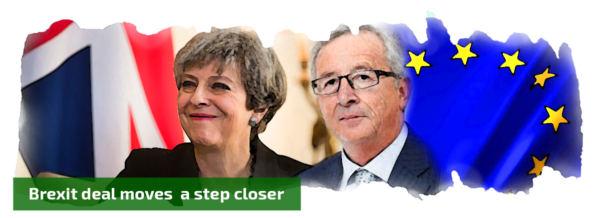 Brexit deal moves a step closer