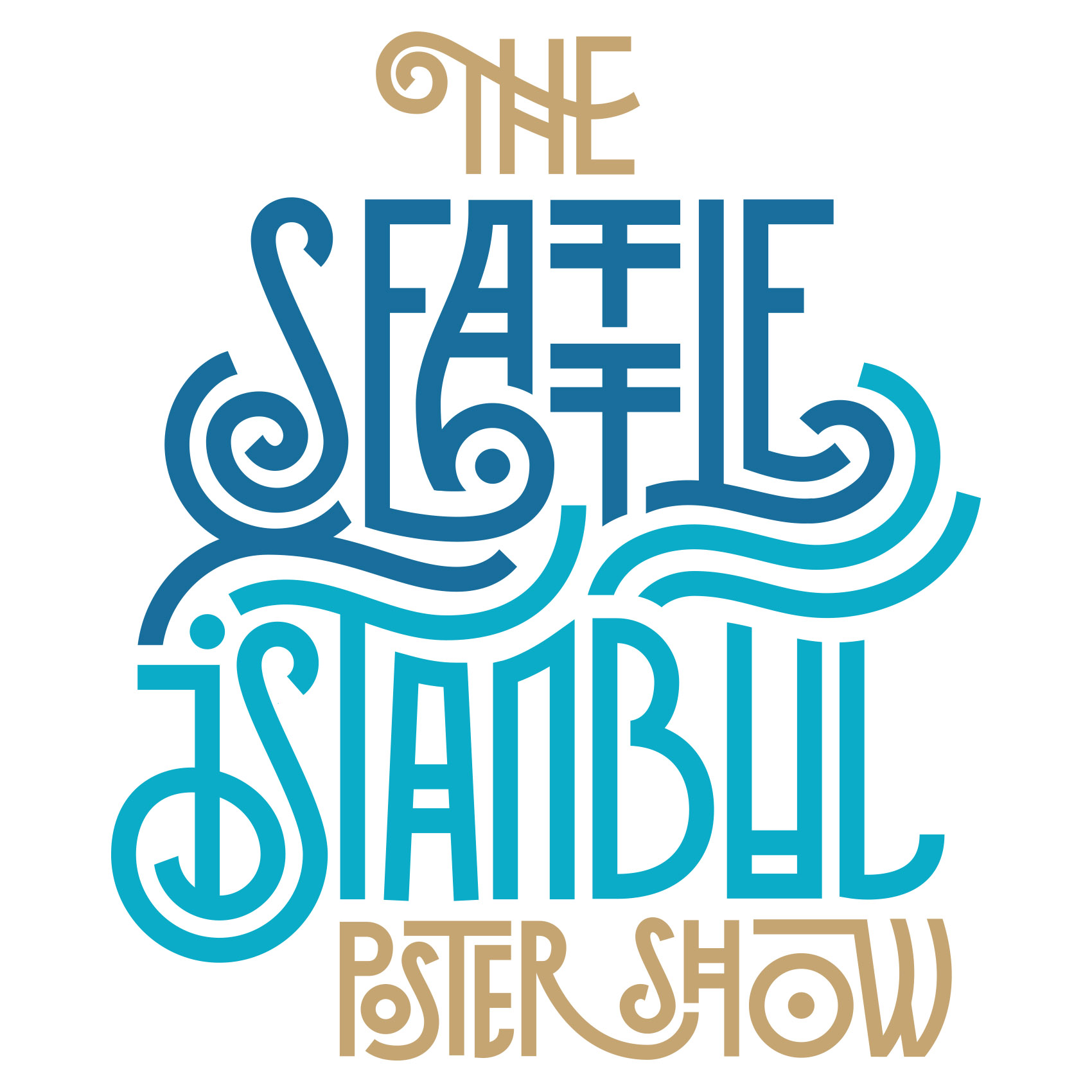 Logo for the Seattle Istanbul poster show