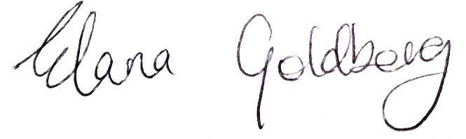 Editor in Chief signature
