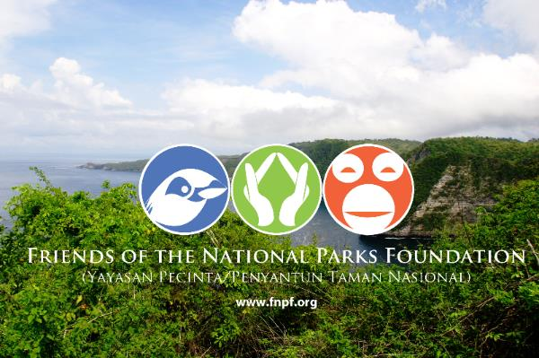 Friends of the National Park Foundation logo and photo