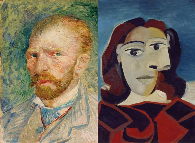 Starhotels Regala Van Gogh a Milano e Picasso a Firenze