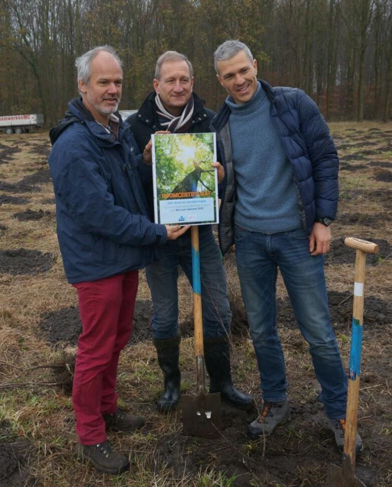 boomplantactie out of use en natuurpunt