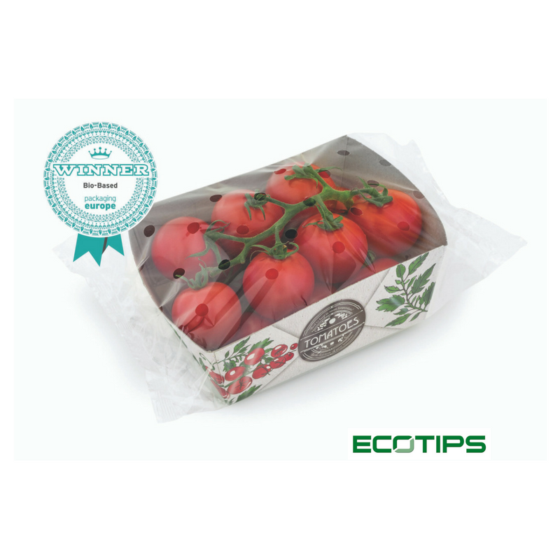 karton vezels tomatenplant