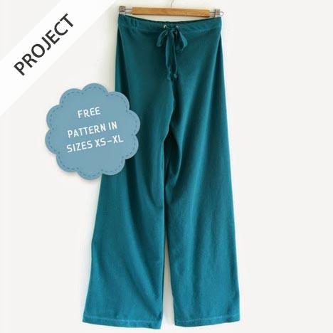 Free Yoga Pants Pattern