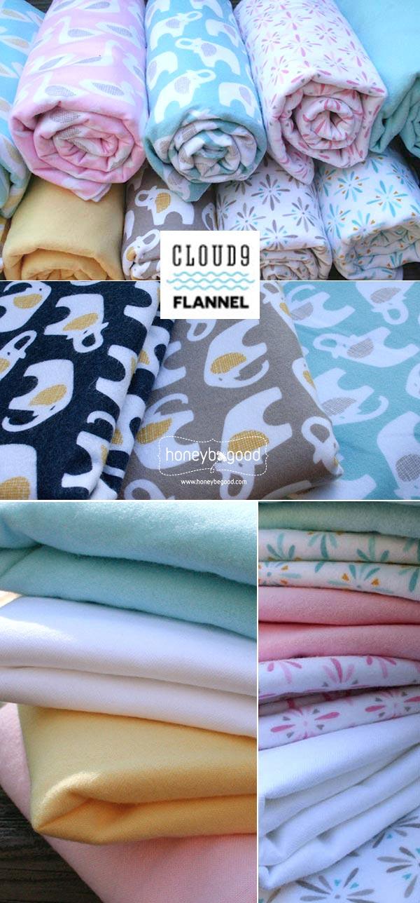Cloud9 Organic Cotton Flannel
