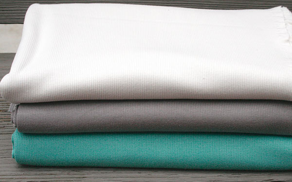 Organic Ribbed Knit Solids by Birch Fabrics