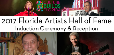 2017 Florida Artists Hall of Fame Induction Ceremony and Reception