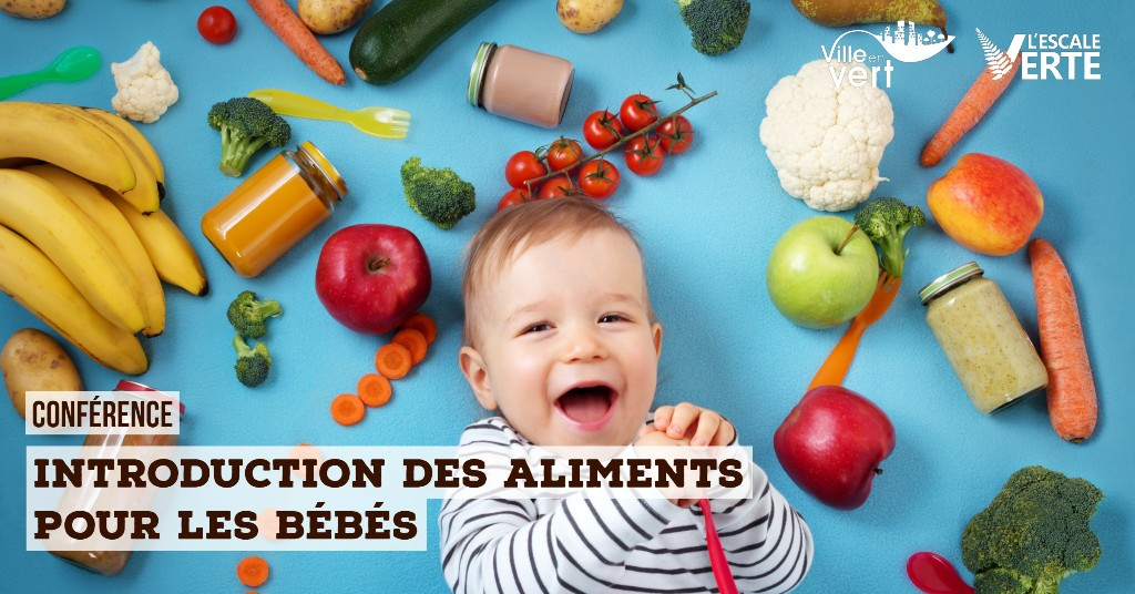 Introduction des aliments pour les bébés