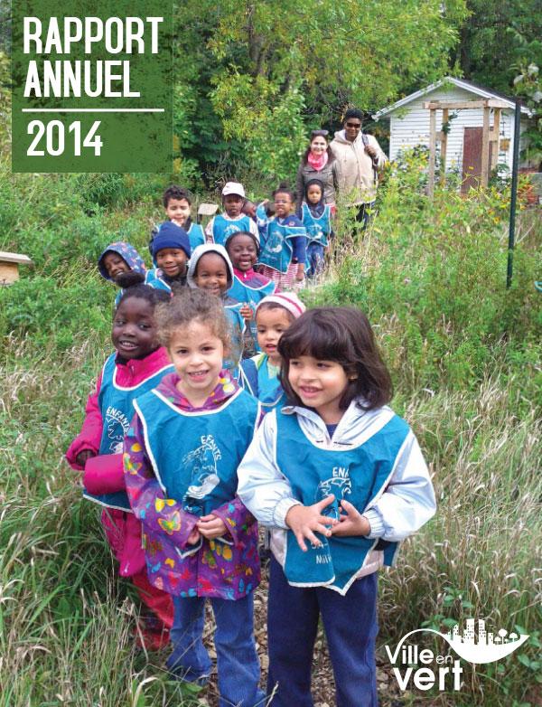 Rapport annuel 2014 de Ville en vert
