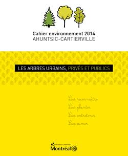 Cahier environnement 2014  Ahuntsic - Cartierville