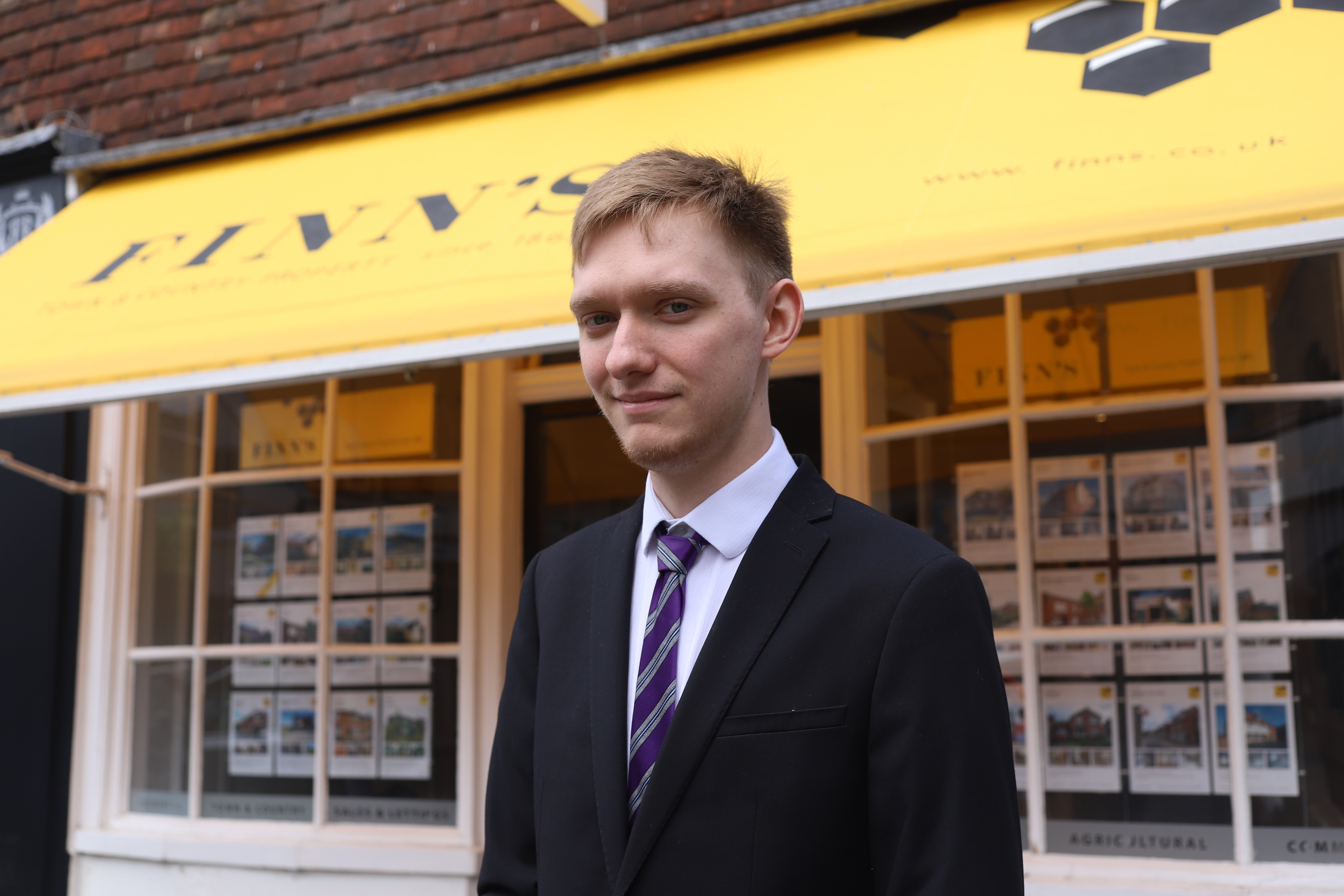 Caption: Stefan is responsible for our inventory management in our Canterbury Lettings team.
