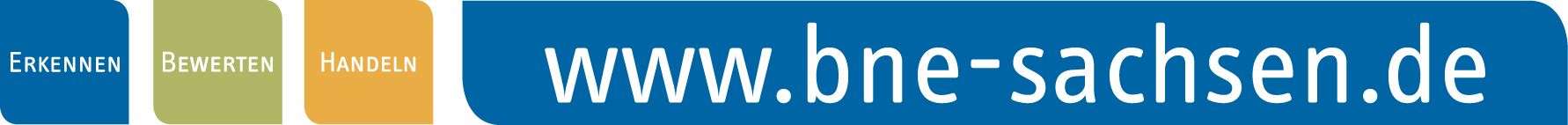 Logo des Portals www.bne-sachsen.de