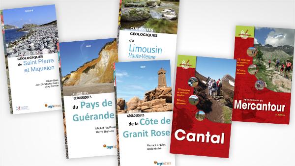 De nouveaux guides géologiques à paraître en mars aux Editions du BRGM