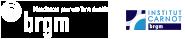 Logos BRGM et institut Carnot BRGM