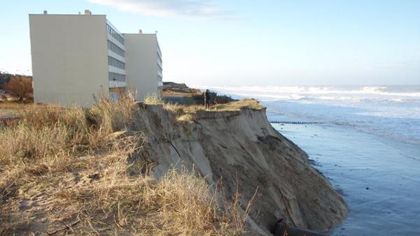 Littoral aquitain : de nouvelles projections de l'érosion jusqu'en 2050