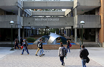 Bellevue College Main Entrance