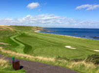 Crail Balcomie Links, 17th & 18th holes, Crail, Scotland
