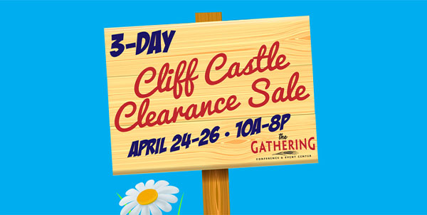 Cliff Castle Clearance Sale