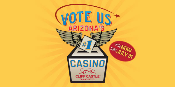 Vote Us Arizona's #1 | Vote Now thru July 31