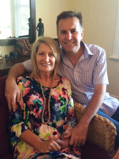 Jen and Peter Simko are fighting MND together