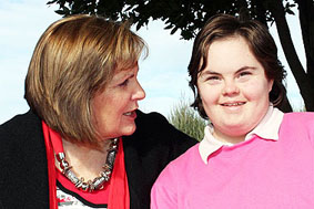 Mary Stoddart and daughter Courtney